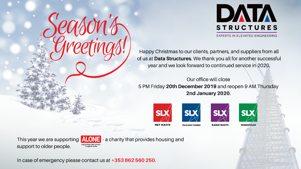 Season's Greetings from Data Structures