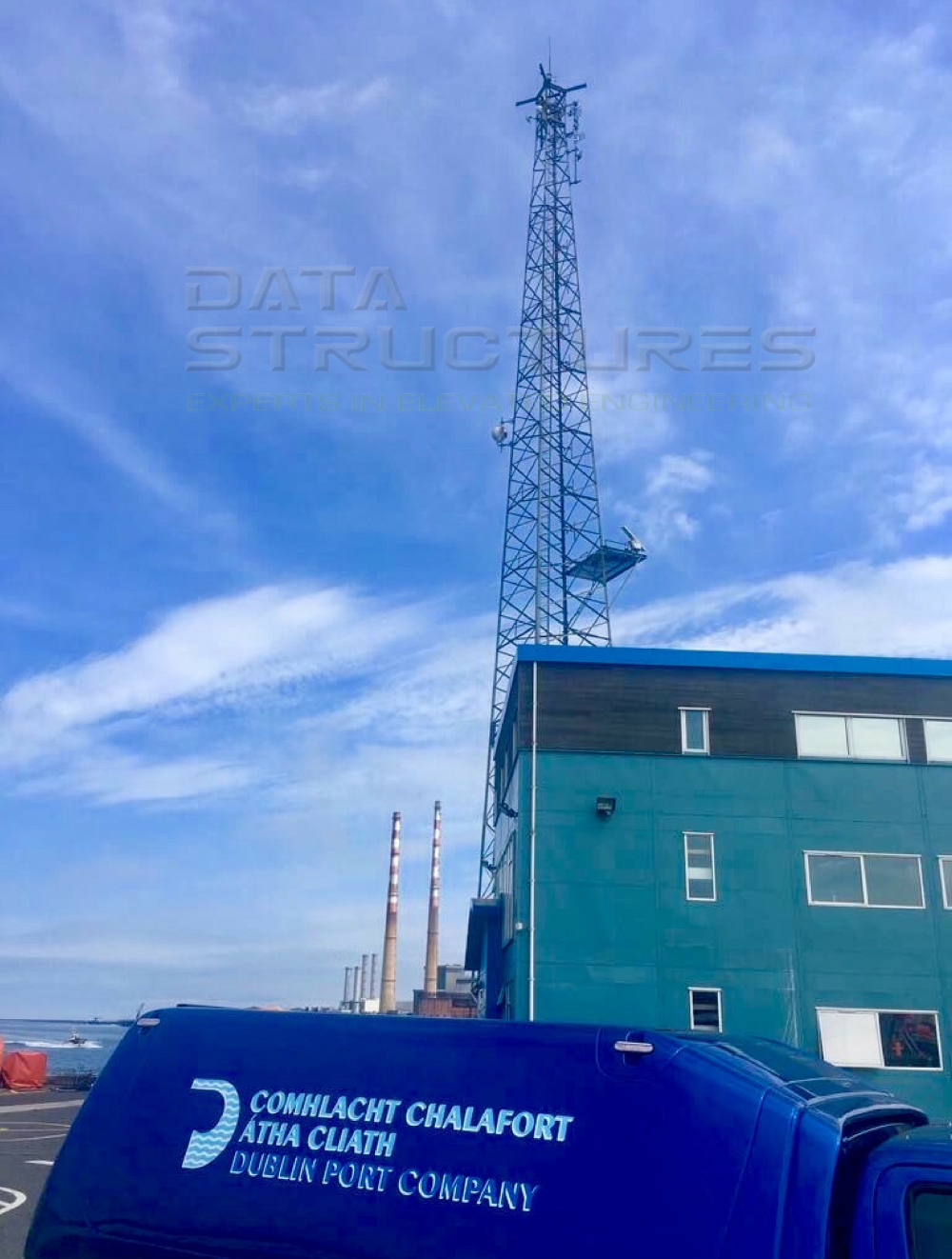 Maintenance work for Dublin Port Company by DSI