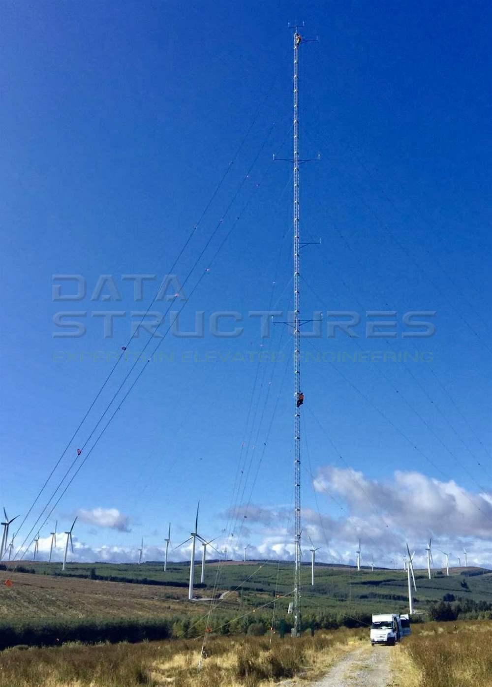DSI Masts at Knockacummer Windfarm